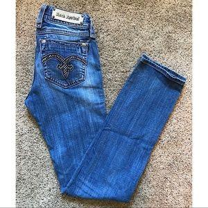 Rock Revival Alanis Straight Leg Jeans Size 29
